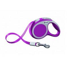 flexi Ремень-сворка для двух маленьких собак, розовая, VARIO Duo Belt S pink, артикул: 19253