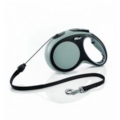 Flexi Рулетка-трос для собак до 20кг, 8м, серая, New Comfort M Cord 8 m, grey арт.10851.сер