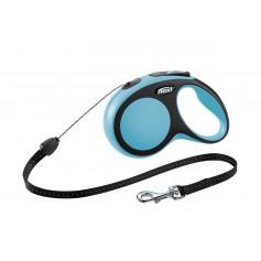 Flexi Рулетка-трос для собак до 12кг, 8м, голубая, New Comfort S Cord 8 m, blue арт. 10849.син