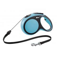 Flexi Рулетка-трос для собак до 20кг, 8м, голубая, New Comfort M Cord 8 m, blue арт.10851.син