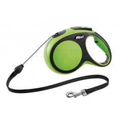 Flexi Рулетка-трос для собак до 20кг, 8м, зеленая, New Comfort M Cord 8 m, green арт.10851.зел