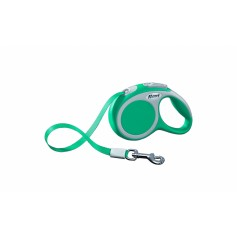 flexi Рулетка-ремень для собак до 12кг, 3м, бирюзовая, VARIO XS tape 3m turquoise, артикул: 19259