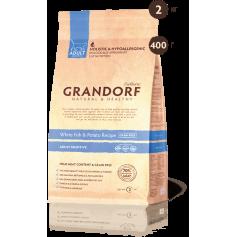 Grandorf корм для кошек Белая рыба с бататом SENSITIVE, 400 гр.3
