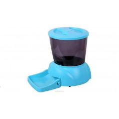 Feedex Автокормушка на 2 кг корма для кошек и мелких пород собак голубая PF3B, артикул: 14052.голуб