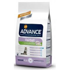 Advance для кошек, вывод шерсти, индейка/рис, 1,5 кг.