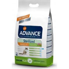 Advance для стерилизованных кошек, индейка/ячмень 1,5 кг.