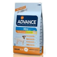 Advance Mini, для взрослых собак, курица с рисом, 3 кг.