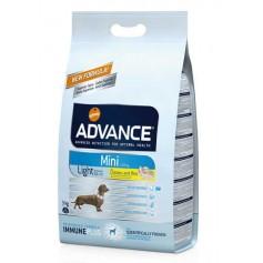 Advance  Light Mini облегченный корм для собак мелких пород, 3 кг.