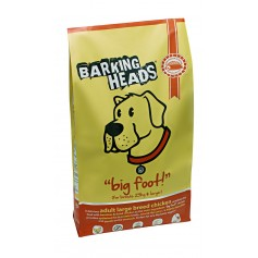 """Barking Heads для собак крупных пород с курицей и рисом """"Цыпленок для большелапого"""", 12 кг."""