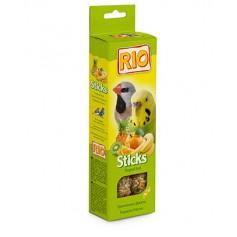 RIO. Палочки для волнистых попугайчиков и экзотов с тропическими фруктами