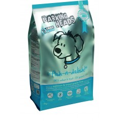 """Barking Heads беззерновой корм для собак с лососем, форелью и бататом """"Рыбка-вкусняшка"""", 12 кг."""