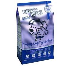 """Barking Heads беззерновой корм для щенков с лососем и бататом """"Щенячьи деньки"""", 12 кг."""