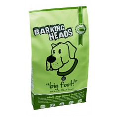 """Barking Heads для собак крупных пород с ягненком и рисом """"Ягненок для большелапого"""", 12 кг."""
