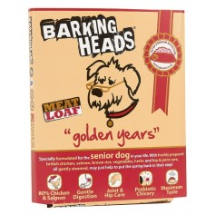 "Barking Heads консервы для собак старше 7 лет ""Золотые годы"" с цыпленком и лососем, 395 гр., арт 19504"