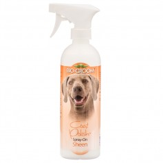 Biogroom Спрей-Блеск, Антиколтун (Coat Polish Dogs), 473 гр. арт. 50237