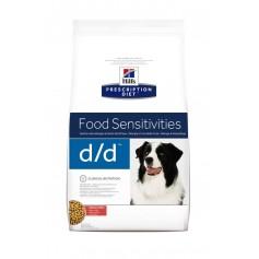 Hill's для собак D/D, лосось и рис, 12 кг.