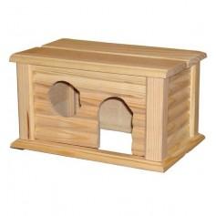 Дом для грызунов с плоской крышей И241