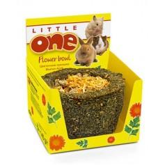 Лукошко цветочное - лакомство-игрушка  Little One  для всех видов грызунов