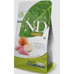 Фармина для кошек N&D, кабан-яблоко Adult 5кг