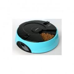 Feedex Автокормушка на 6 кормлений для сухого корма и консерв, голубая PF6B, артикул: 14051.гол