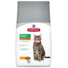 """Hill's сухой корм для кошек """"Идеальный вес"""" арт. 3673, 1,5 кг."""
