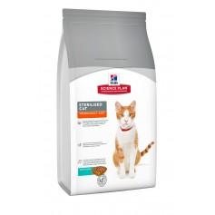 Hill's для стерилизованных кошек до 6 лет, с тунцом, 1,5 кг. арт 9352,