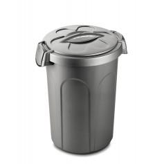 Контейнер Jerry 23 литра для 8кг корма, серебряный