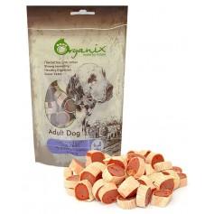 Organix Лакомство для собак «Рулетики из куры и рыбы» (100% мясо), 100 г. арт. 19283