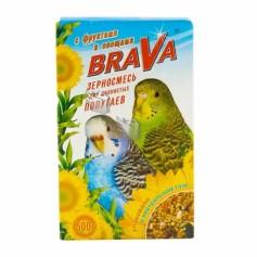Brava корм для попугаев, фрукты овощи, 500 гр.