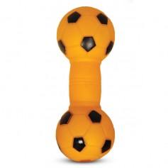 Гантель футбольная малая, 13 см.