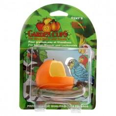 """Кормушка для птиц """"Апельсин"""" с жердочкой"""