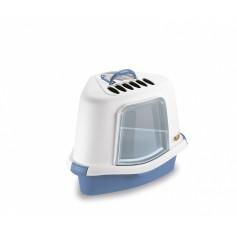Stefanplast Туалет Закрытый Угловой Sprint Corner Plus, голубой, 40*56*40см (96805), 1,25 кг артикул: 21414