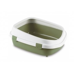 Stefanplast Туалет Queen с рамкой, зеленый, 55x71x24,5 см, 1,65 кг артикул: 21415