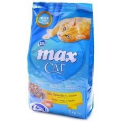 """Total Max Для кошек """"Рыбный гурман"""": рыба, курица и печень, 1 кг. арт. 24631"""