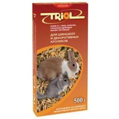 Криспи корм для шиншилл, кроликов, 500 гр.