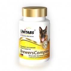Юнитабс Бреверс Комплекс для крупных собак, 100 таб.