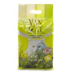 Van Cat Комкующийся наполнитель без пыли с ароматом соснового леса, пакет, 5 кг.